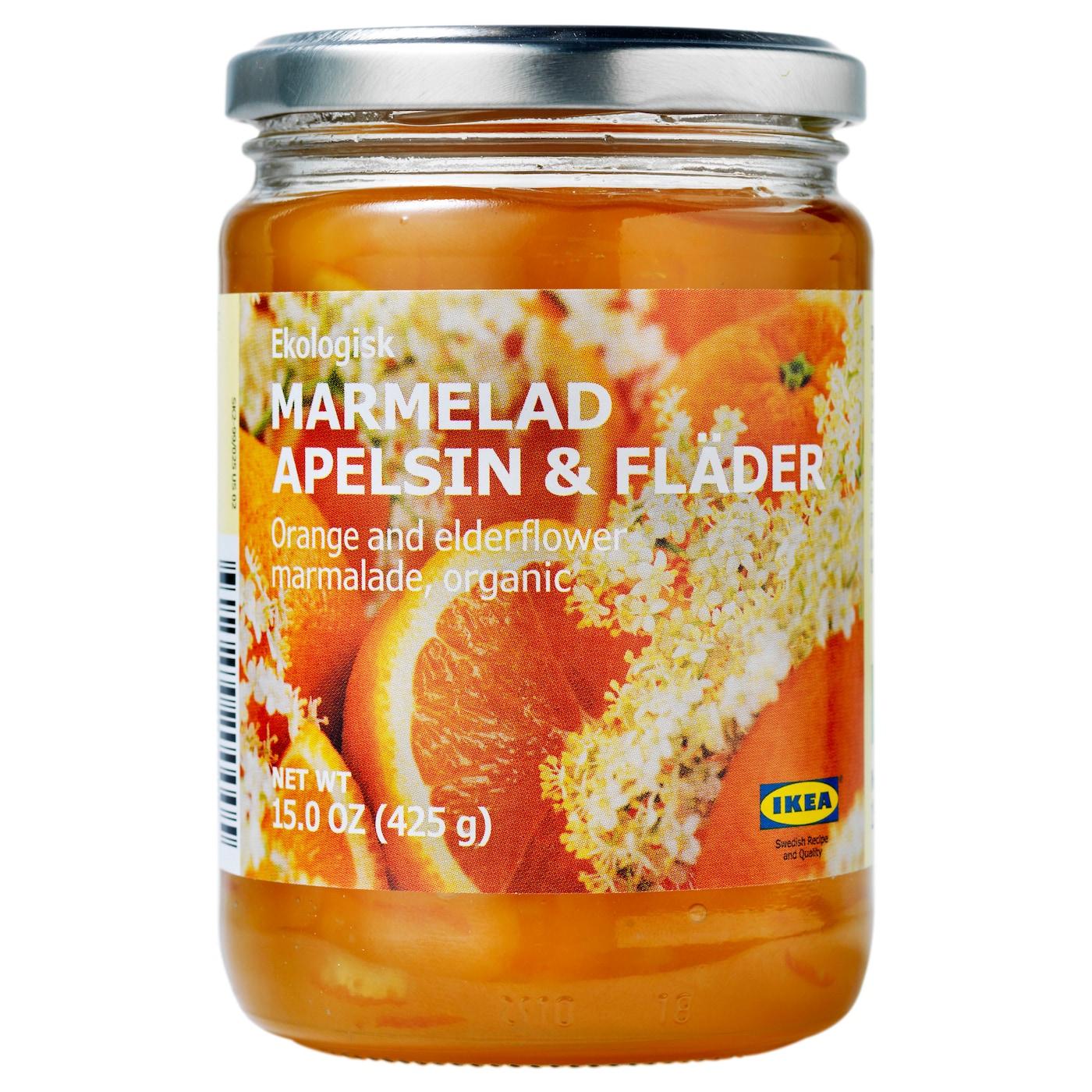MARMELAD APELSIN & FLÄDER