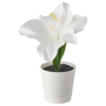 ВИНТЕРФЕСТ Искусственное растение и кашпо